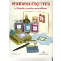Patchwork Etiquettes, 24 Etiquettes En Couleur  (Occasion)