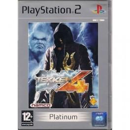 Tekken 4 Platinum sur PS2  (Jeu d'occasion)