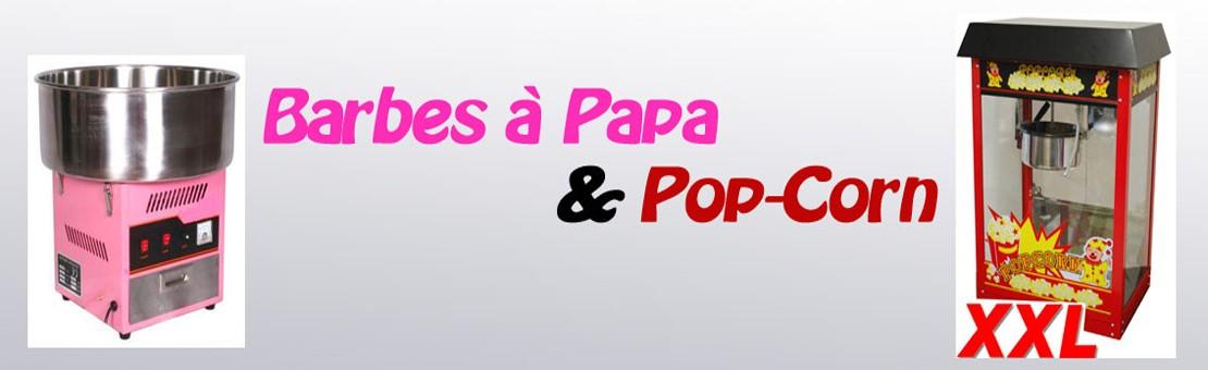 Barbes à Papa et Popcorn